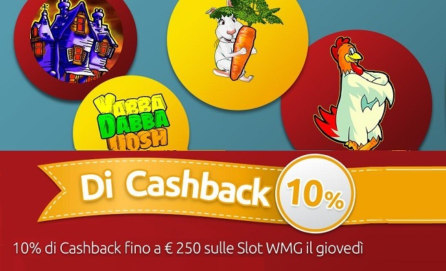 Merkur Win Casinò: il giovedì folle delle slot machine online WMG