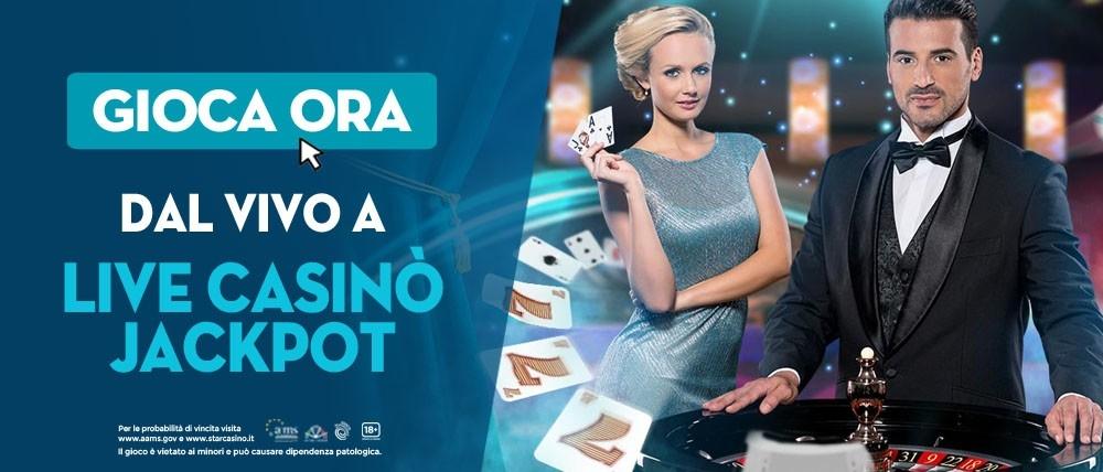 Conquista un jackpot di 1000€ con la nuova promozione Live Casinò Jackpot di Starcasinò!