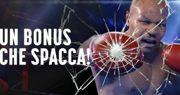 Uno-due, Tyson: la nuova imperdibile promozione di Snai Casinò